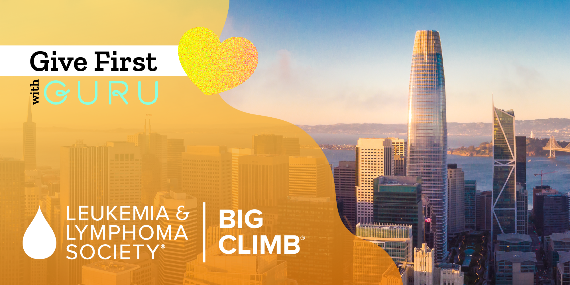 Give First with Guru & The Big Climb